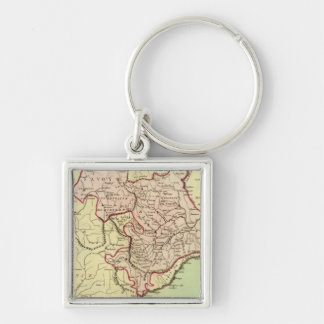 Sardinia, France, Italy Keychain