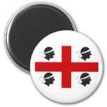 Sardinia, Italy 2 Inch Round Magnet