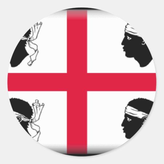 Sardinia-Italy Classic Round Sticker