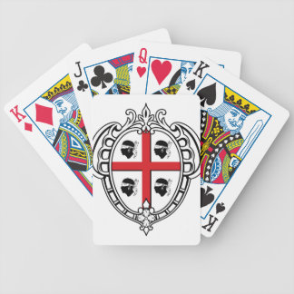 Sardinia (Italy) Coat of Arms Bicycle Playing Cards