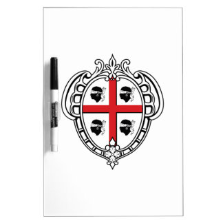 Sardinia (Italy) Coat of Arms Dry-Erase Board