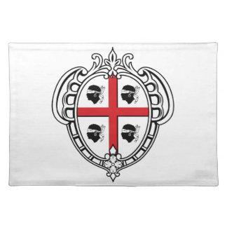 Sardinia (Italy) Coat of Arms Cloth Placemat