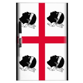 Sardinia (Italy) Flag Dry-Erase Whiteboard