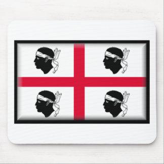 Sardinia Italy Flag Mousepad