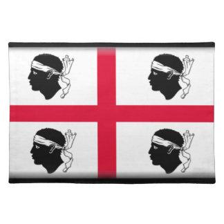 Sardinia (Italy) Flag Cloth Placemat