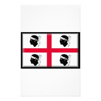 Sardinia (Italy) Flag Customized Stationery