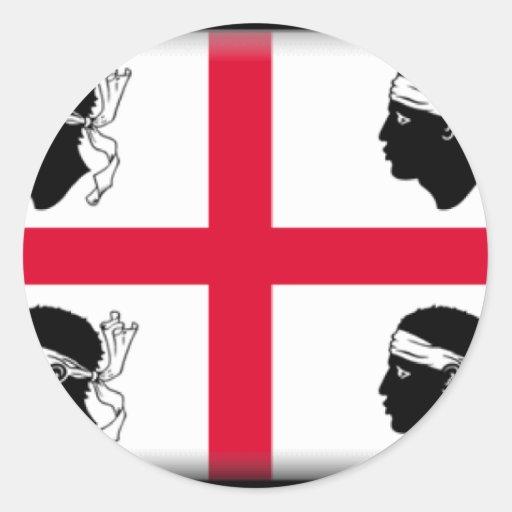 Sardinia-Italy Stickers