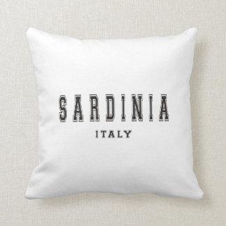 Sardinia Italy Throw Pillow