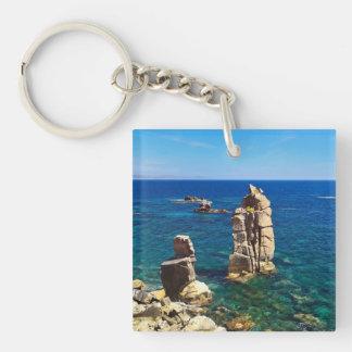 Sardinia - Le Colonne, Carloforte Keychain
