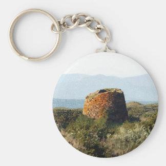 Sardinia, Nuraghe Keychain