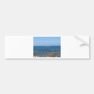 Sardinia seascape in summer bumper sticker
