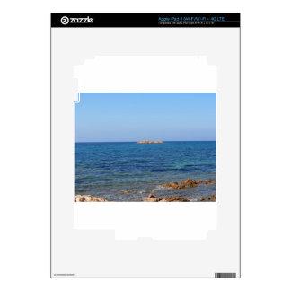 Sardinia seascape in summer decal for iPad 3