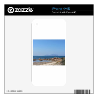 Sardinia seascape in summer decals for iPhone 4