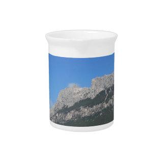 Sardinia seascape in summer drink pitcher