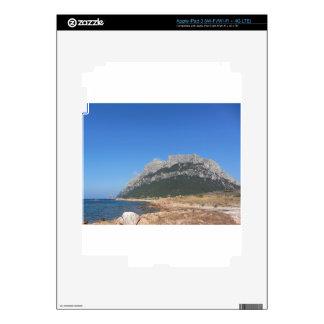 Sardinia seascape in summer iPad 3 skin