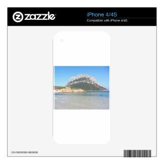 Sardinia seascape in summer iPhone 4S decal