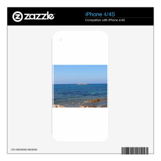 Sardinia seascape in summer decals for iPhone 4S