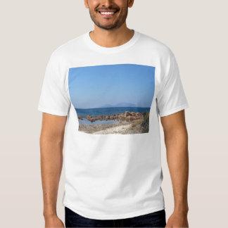 Sardinia seascape in summer t shirt