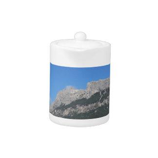 Sardinia seascape in summer teapot