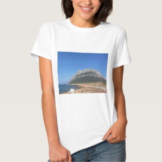 Sardinia seascape in summer tee shirt