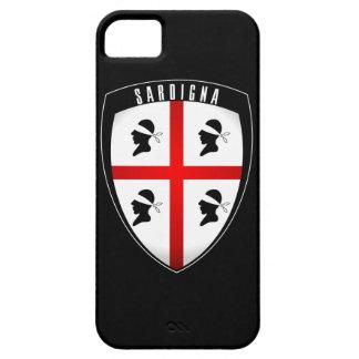 Sardinia, Shield Crest - iPhone (black) iPhone SE/5/5s Case