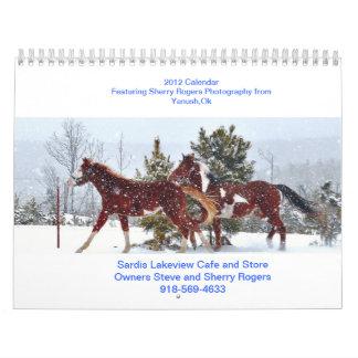 Sardis Lakeview Cafe Calendar