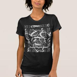 """""""Sardonic"""" Bold Energetic Scribble Pattern T-shirt"""