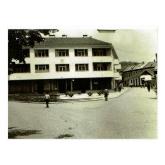 Sarejevo, in town postcard