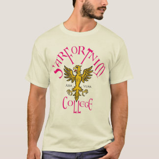 Sarfortnim College 1 mens tee-shirt T-Shirt