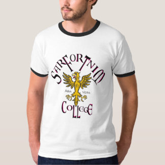 Sarfortnim College 3 men's ringer T-Shirt