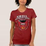 Sargento Barbecue Summer el 4 de julio de la parri Camisetas