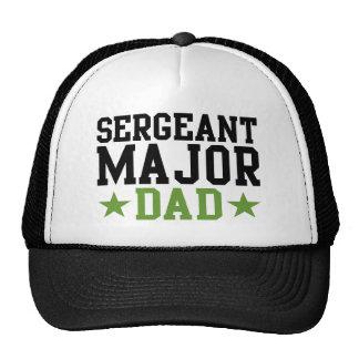 Sargento comandante papá gorros
