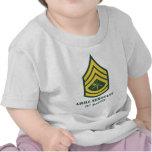 Sargento de la parrilla del ejército camisetas