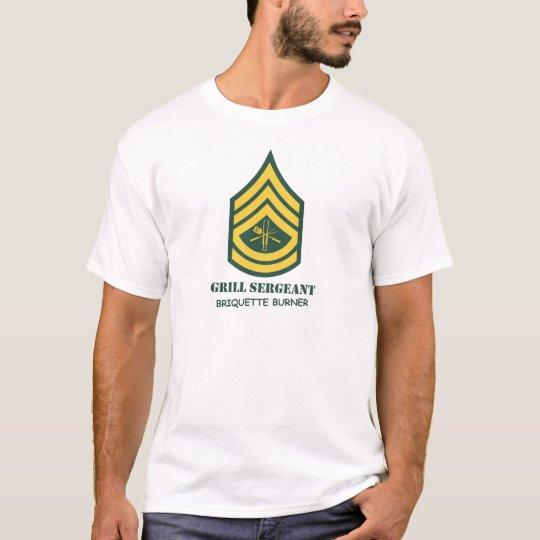 Sargento de la parrilla del ejército playera