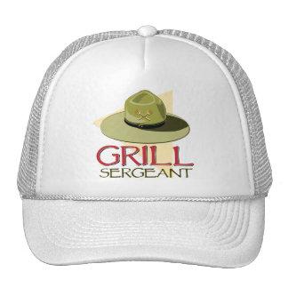 Sargento de la parrilla gorra