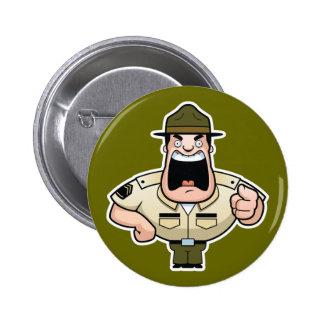 Sargento de taladro botón pins