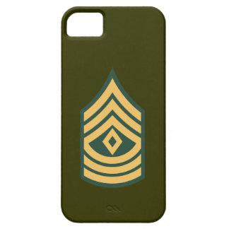 Sargento del ejército iPhone 5 funda