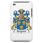 Sargento Family Crest iPod Touch Case-Mate Protectores