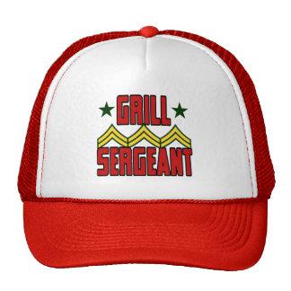 Sargento Hat de la parrilla Gorras De Camionero