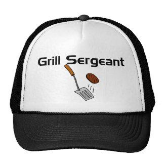 Sargento Hat de la parrilla Gorras