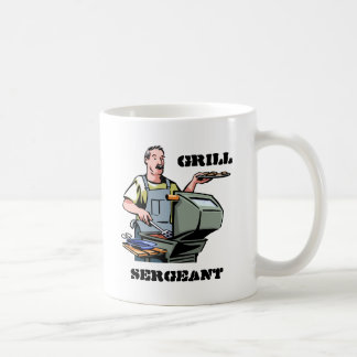 Sargento Mug de la parrilla Taza Clásica