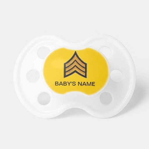 SARGENTO PACIFIER CHUPETE
