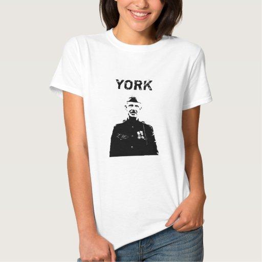 Sargento York Playeras