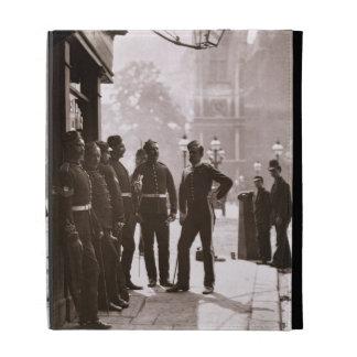 Sargentos de reclutamiento en Westminster, 1876-77