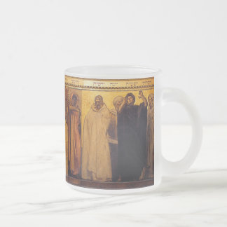 Sargent's Frieze of (Christian) Prophets Frosted Glass Coffee Mug