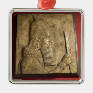 Sargon II-  Egyptian Museum.jpg Metal Ornament