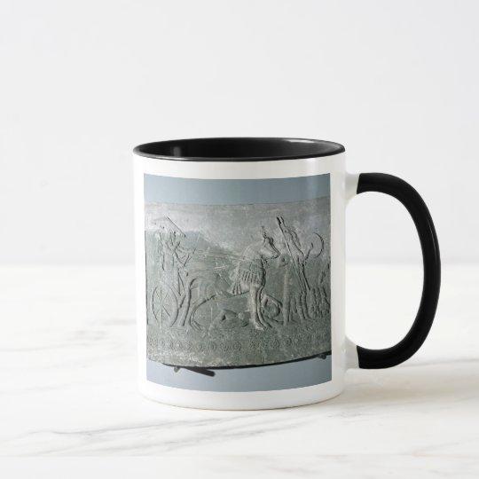 Sargon II  on a Battle Chariot Mug