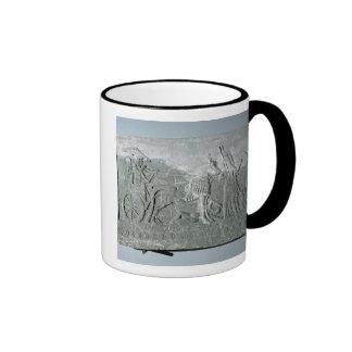 Sargon II  on a Battle Chariot Coffee Mug