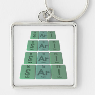Sari as Sulfur Argon Iodine Keychains