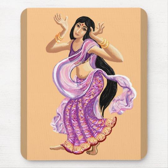 Sari Dancer Mouse Pad